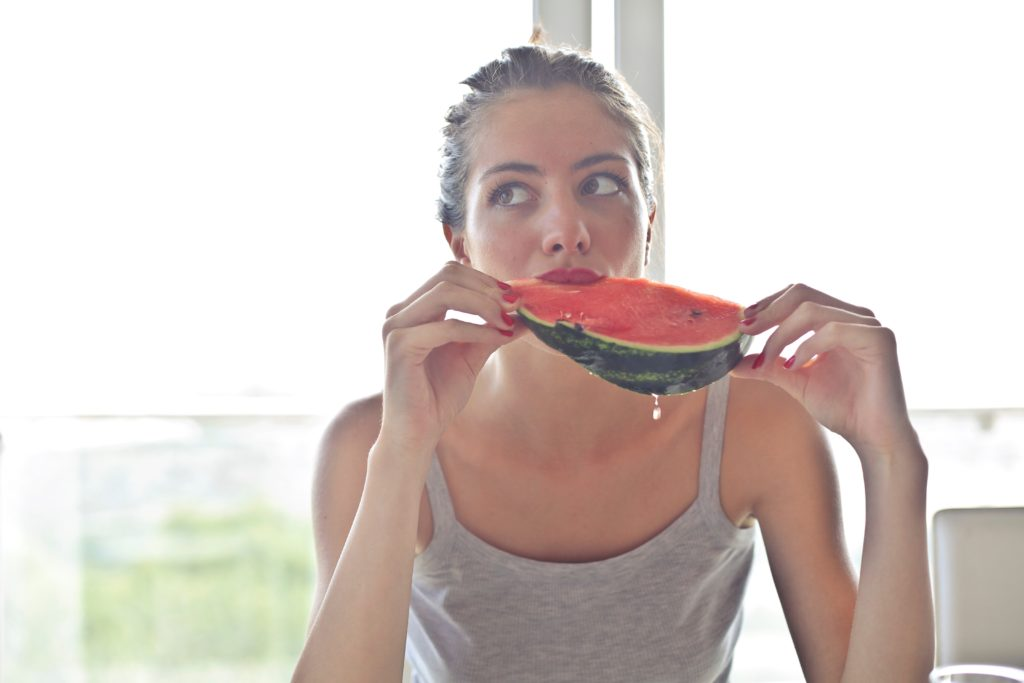 Eating watermelon for muscle recovery